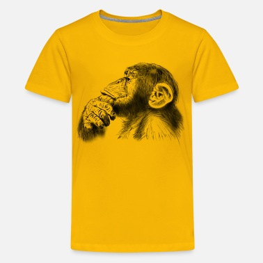 Affe affe - Teenager Premium T-Shirt