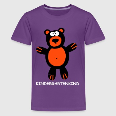 Bärchen Teddy Baerchen Kindergartenkind Teddy Statement Kinder - Teenager Premium T-Shirt