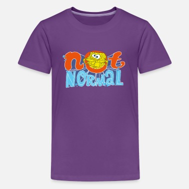 Spongebob Teenagers' Premium Shirt SpongeBob 'Not Normal' - Tenårings premium T-skjorte
