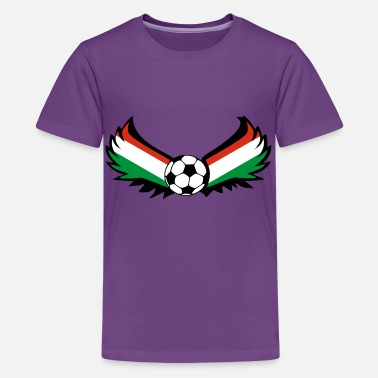 Ungarn Fan Fussball Ungarn - Teenager Premium T-Shirt