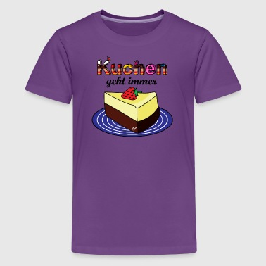 Cheesecake cheesecake - Teenager premium T-shirt