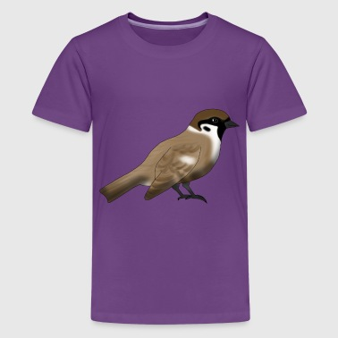 Sparrow - Teenager Premium T-Shirt