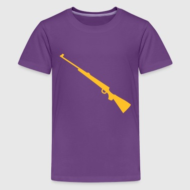 Hunting rifle for long sleeves - Teenage Premium T-Shirt