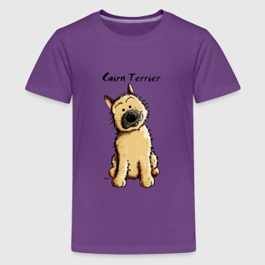 Cute Cairn Terrier - Teenage Premium T-Shirt