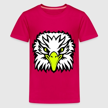 Wildvogel Adlerkopf 1009 - Teenager Premium T-Shirt