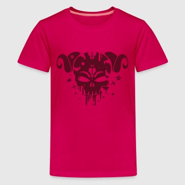 Faun skull - Teenage Premium T-Shirt