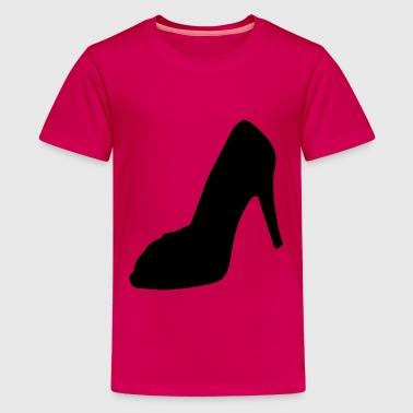 shoe - highheel - Teenage Premium T-Shirt