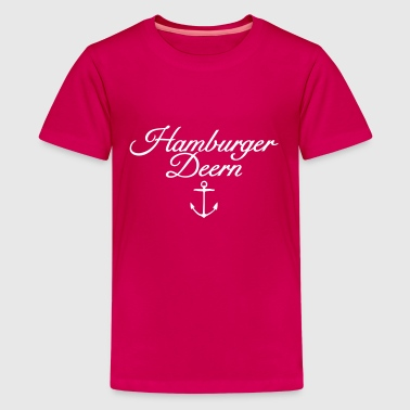 Hamburger Deern Klassisch Anker Hamburg Design - Teenager Premium T-Shirt