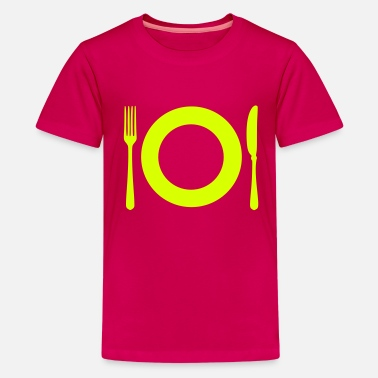 Restaurant Besteck - Restaurant - Teenager Premium T-Shirt