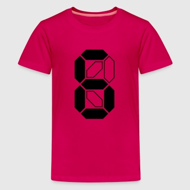 Number 6__V001 - Teenager Premium T-shirt