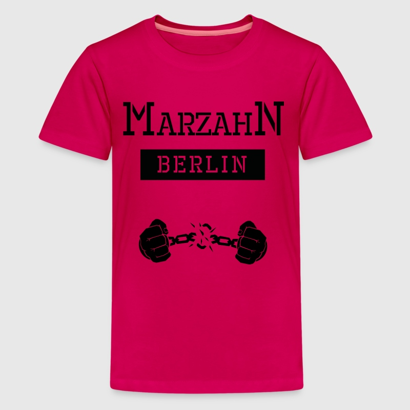 Ghetto Marzahn Berlin - Teenager Premium T-Shirt