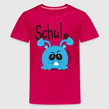 Schulkind Monster - Teenager Premium T-Shirt