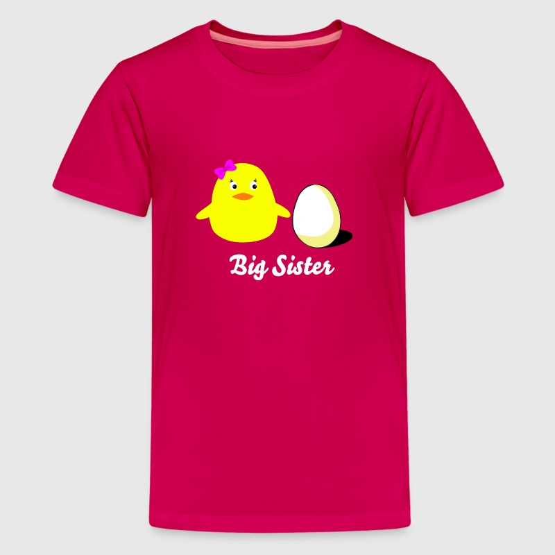 big_sister_chick - Camiseta premium adolescente