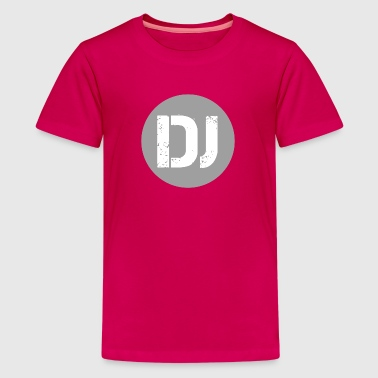 Deejay - Disc Jockey Edition - Premium T-skjorte for tenåringer