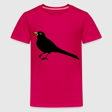 Amsel - Teenager Premium T-Shirt