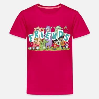 Freundschaft friends - Teenager Premium T-Shirt