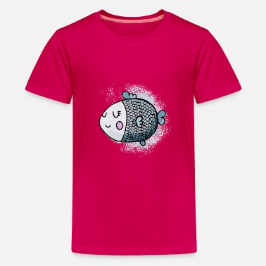Kidz Fish Kidz - Teenage Premium T-Shirt