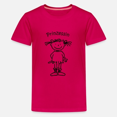 Prinzessin - Teenager Premium T-Shirt