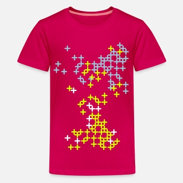 Pattern cross pattern - Teenager Premium T-Shirt