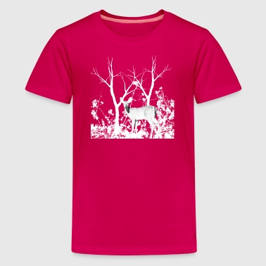 deer - Teenager Premium T-Shirt