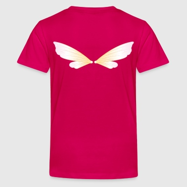 pixie wings - Teenage Premium T-Shirt