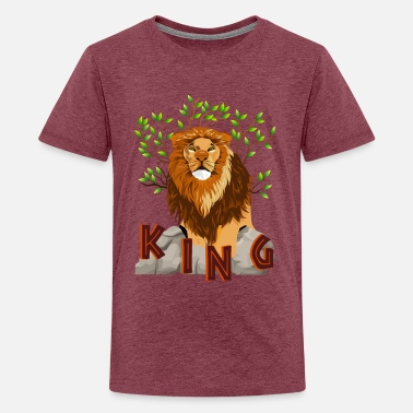 LION KING - Teenage Premium T-Shirt