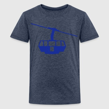 seilbahn_1 - Teenager Premium T-Shirt