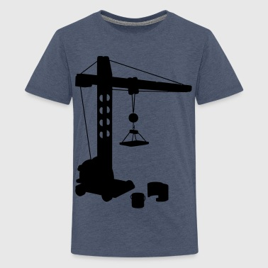 crane profession - Teenager Premium T-shirt