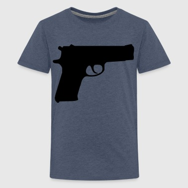 gun weapon - T-shirt Premium Ado