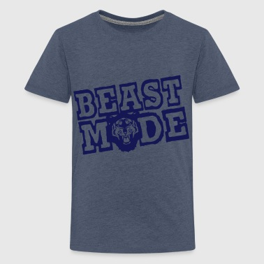 beast mode citation tigre rugit revolter - T-shirt Premium Ado