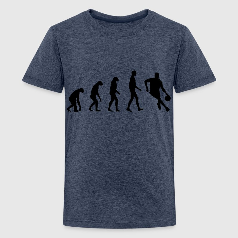 Evolution Basketball - Teenage Premium T-Shirt