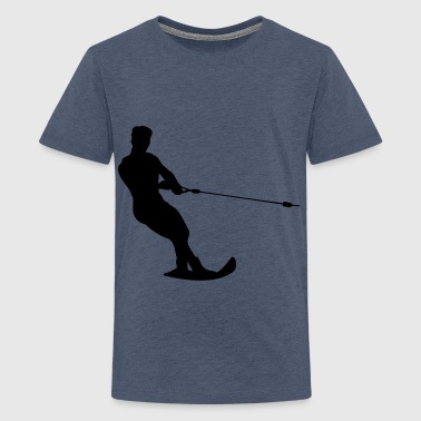 water-ski - Teenage Premium T-Shirt