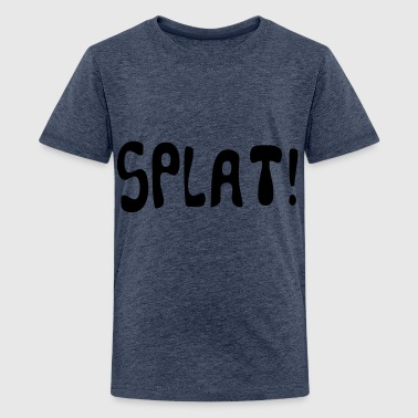 cartoon splat - Teenage Premium T-Shirt