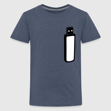 USB-Stick - Teenager premium T-shirt