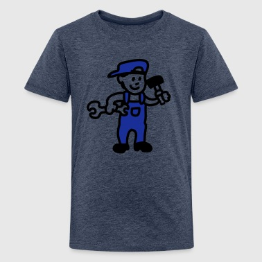 Handwerker - Teenager Premium T-Shirt