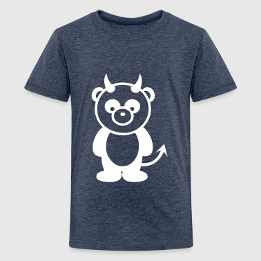 Panda bear fuck - Teenage Premium T-Shirt