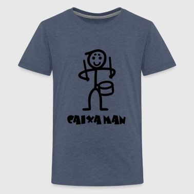 Caixa man - Teenager Premium T-Shirt