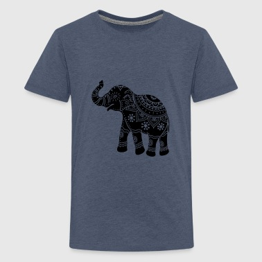 Elefant Indien - Teenager Premium T-Shirt