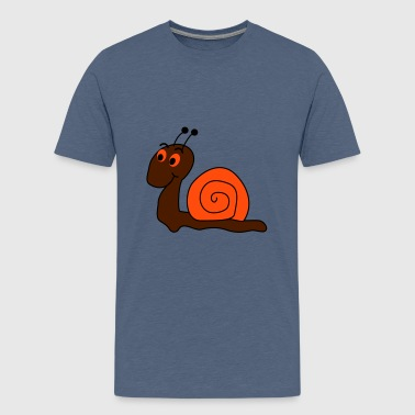 escargot - T-shirt Premium Ado