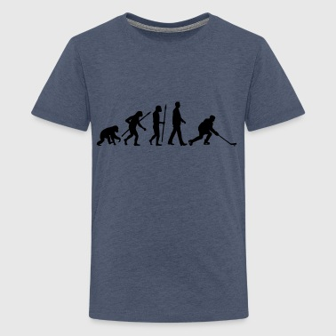 evolution_hockey_player_032013_a_1c - Teenager Premium T-Shirt
