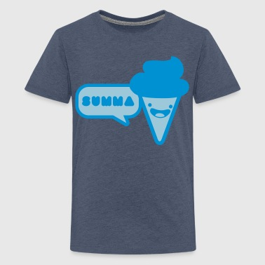 ice cream summer - Teenage Premium T-Shirt