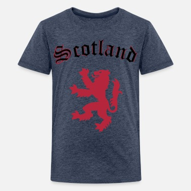 Scotland Lion of Scotland - Teenage Premium T-Shirt