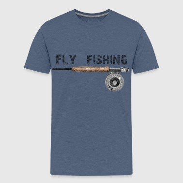 Fly fishing - Premium T-skjorte for tenåringer