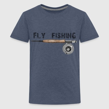 Fly fishing - Teenager premium T-shirt