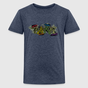 Teenage Premium Shirt TURTLES 'Michelangelo ...' - Teinien premium t-paita