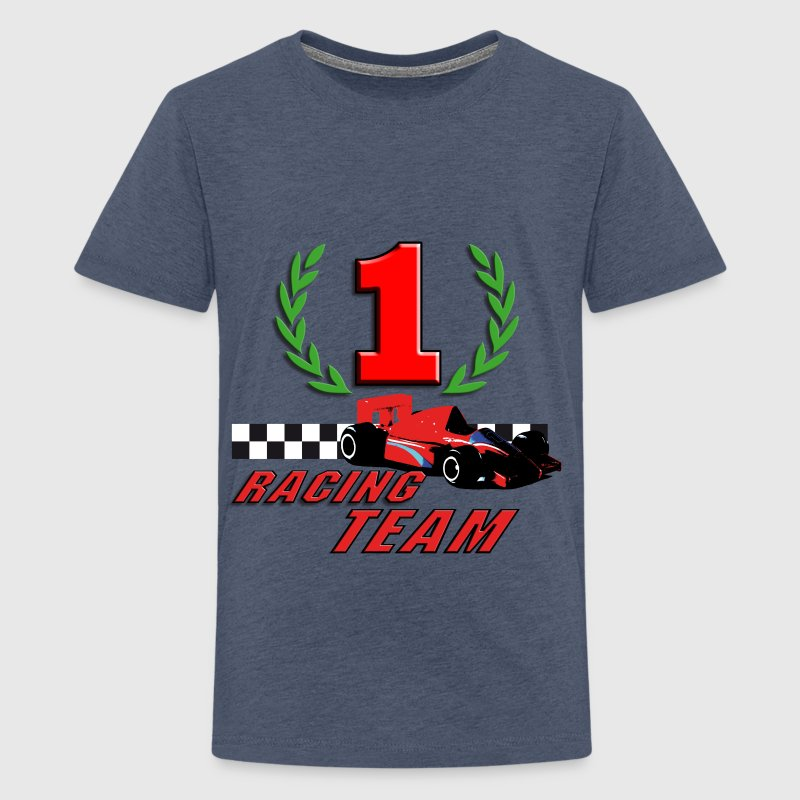 car_racer_b - Teenager Premium T-shirt