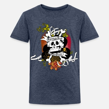 Teenagers' Premium Shirt SpongeBob Skeleton - Teenager premium T-shirt