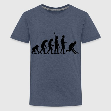 evolution_herren_hockey_1c - T-shirt Premium Ado