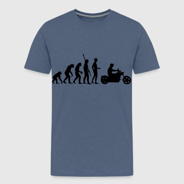evolution_biker - T-shirt Premium Ado