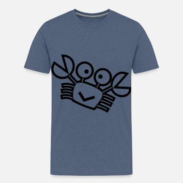 Crab Kids kids crab - Teenage Premium T-Shirt